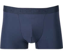 Herren Unterwäsche Trunk Microfaser-Stretch navy blau