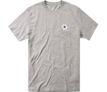 T-Shirt Classic Fit Baumwolle meliert