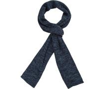 Schal, Baumwolle, dunkelblau