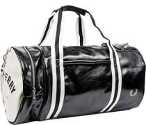 Herren Tasche FRED PERRY Sporttasche Kunstleder schwarz