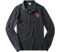 Polo-Shirt Polo, Baumwoll-Piqué, dunkelblau