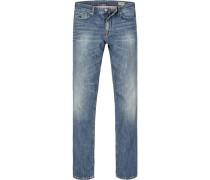 Jeanshose Modern Fit Baumwolle jeansblau