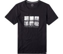 T-Shirt, Body-Fit, Pima Baumwolle