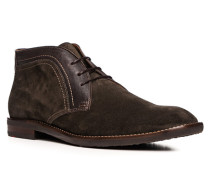 Herren Schuhe HANNO Kalb-Lammleder braun
