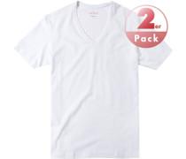 T-Shirts Shaped Fit Baumwoll-Stretch