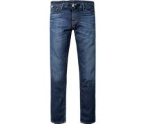 Jeans Classic Fit Baumwolle 13,5 oz jeansblau