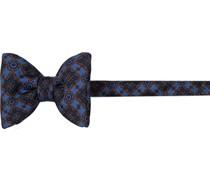 Krawatte Schleife Seide marineblau