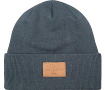 Mütze Microfaser jeansblau