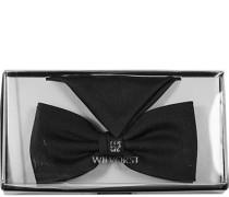 Herren Accessoires  Smoking-Schleife mit Einstecktuch Microfaser schwarz