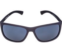 Brillen Sonnenbrille, Kunststoff, navy