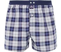 Unterwäsche Boxer-Shorts, Baumwolle, navy kariert