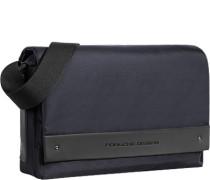 Tasche Messenger Bag, Microfaser, nachtblau