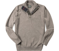 Pullover Troyer Wolle meliert