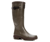 Schuhe Wellington Naturkautschuk khaki