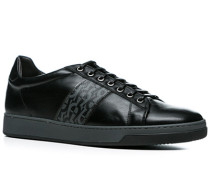 Herren Schuhe Sneakers Kalbleder schwarz schwarz,schwarz