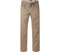 Jeans Comfort Fit Baumwoll-Stretch sand