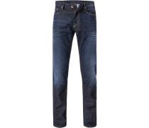 Jeans, Modern Fit, Baumwolle, denim