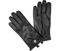 Herren ROECKL Handschuhe I-Touch Nappaleder schwarz