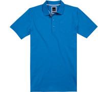 Polo-Shirt Polo Modern Fit Baumwoll-Piqué capriblau