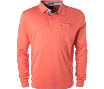 Polo-Shirt Polo, Baumwolle, koralle