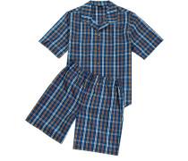 Schlafanzug Pyjama Baumwolle kariert