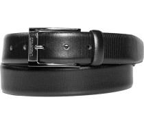 Herren Gürtel schwarz Breite ca. 3,5 cm
