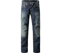 Jeans Slim Fit Baumwoll-Stretch 10oz indigo
