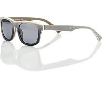 Herren Brillen  Sonnenbrille Kunststoff hellgrau-dunkelgrau