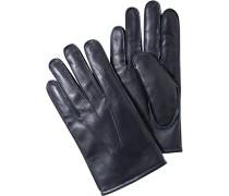 Herren  Handschuhe Lammleder nachtblau