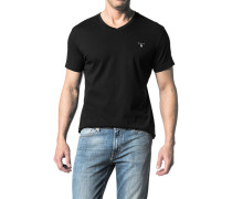 T-Shirt, Fitted Body, Baumwolle