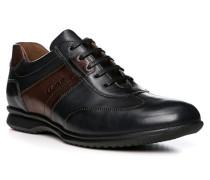 Herren Schuhe BLAKE Kalbleder blau