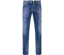 Blue-Jeans Baumwoll-Stretch denim