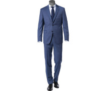 Anzug, Modern Fit, Schurwolle Super110, meliert