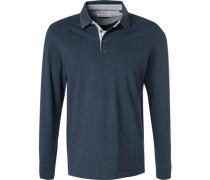 Polo-Shirt Polo Baumwoll-Pqué navy