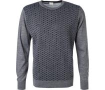 Pullover Pulli, Wolle, gemustert