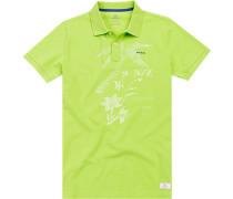 Polo-Shirt Polo Baumwolle lindgrün