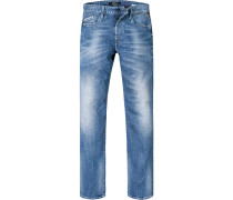 Jeans Regular Slim Fit Baumwoll-Stretch 10,5oz