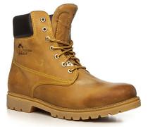 Herren Schuhe Schnürstiefeletten Kalbleder camel beige