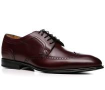Schuhe Derby Kalbleder bordeaux ,braun