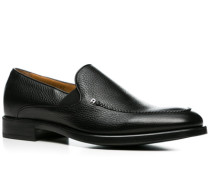 Schuhe Slipper Kalbleder ,braun