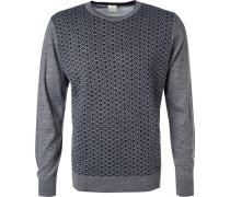 Pullover Pulli Wolle gemustert