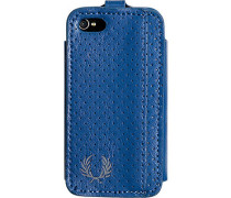 Herren  FRED PERRY Smart Phone Case Kunstleder capriblau