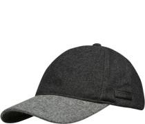 Cap, Wolle, anthrazit