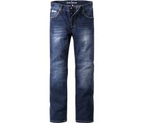 Jeans Modern Fit Baumwolle denim