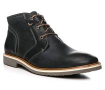 Herren Schuhe SKIPPER Kalb-Schafleder blau