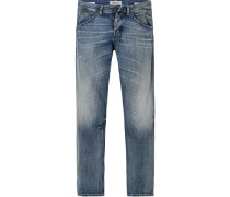 Jeans Ash, Slim Fit, Baumwolle,