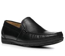 Schuhe Mokassin Leder