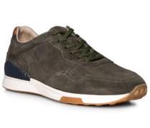 Schuhe Sneaker, Rindveloursleder