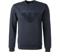 Sweatshirt Baumwolle navy