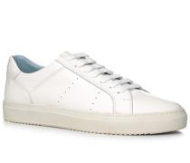 Schuhe Sneaker Leder ,blau